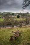 Looking over the Wharfe to the church in Burnsall