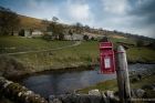 At Yockenthwaite. The red post box begged to be the foreground to this farm view.
