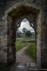 At Bolton Abbey. An irresistible archway.