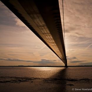 An old 2009 shot of the Humber Bridge