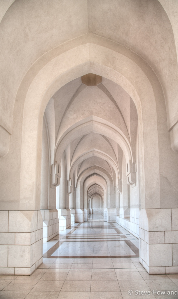 a study in arches, Muscat, Oman, UAE