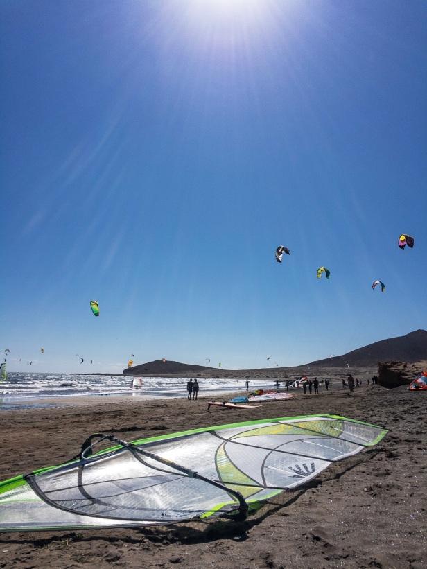 Sun, sea, wind, sail, surf