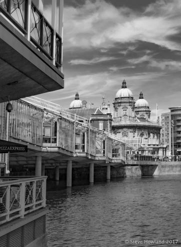 Princes Quay to the Town Docks Museum
