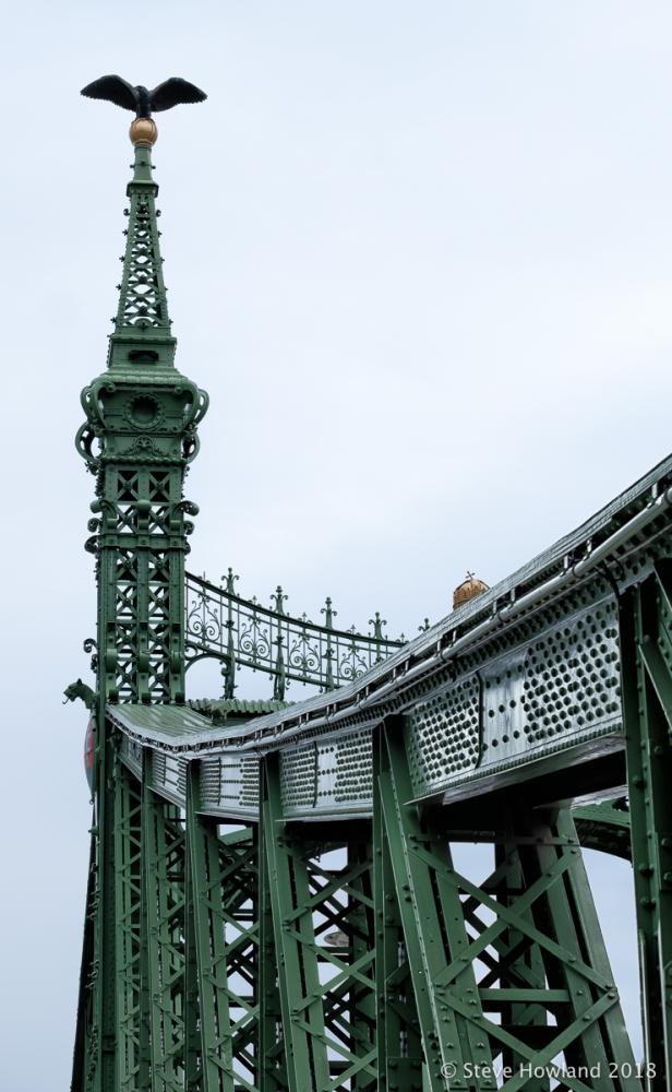 Szabadság híd (in English: Liberty Bridge